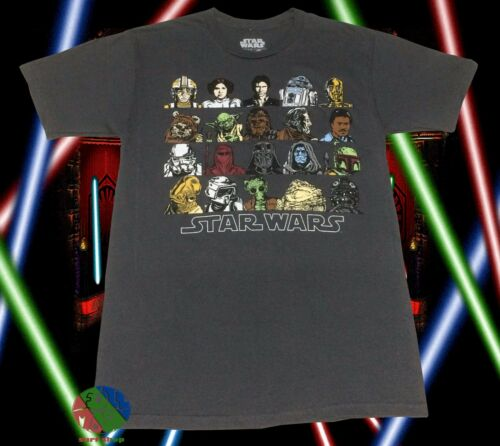 New Star Wars Characters Cast  Mens Classic Vintage T-Shirt