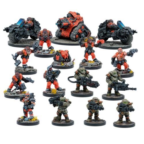 Deadzone-Forge Father Faction Booster-Mantic-Envoi Première Classe