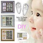 3D Plaster Handprints Footprints Baby Hand Foot Casting Kit Keepsake gift Frame