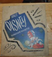Vintage 1950's Disney Donald Duck Movie Theater Sign Hand Painted