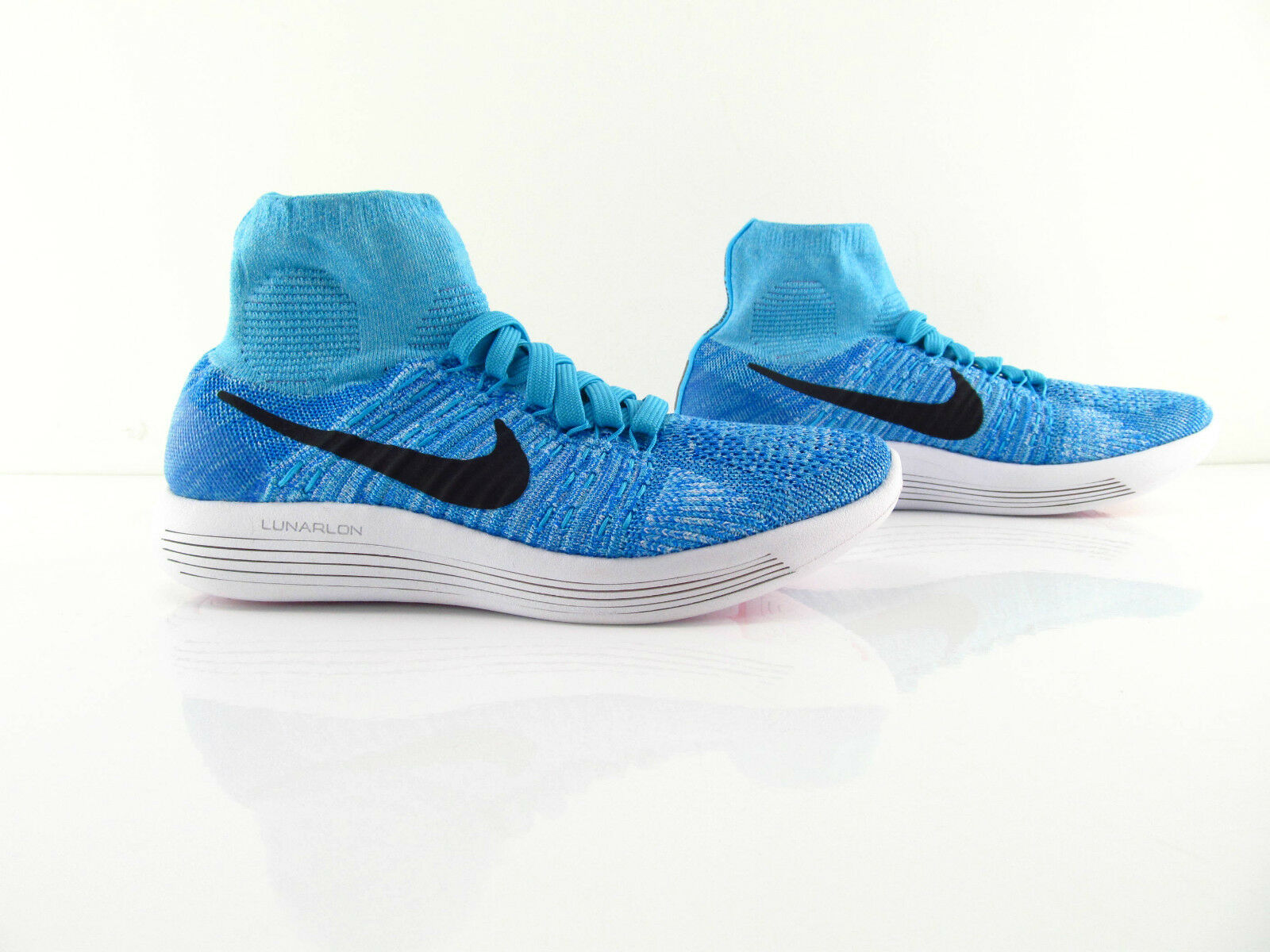 Nike Wmns Lunarepic Flyknit Aqua Gamma bluee Running New US_7.5 UK_5 Eur 38.5