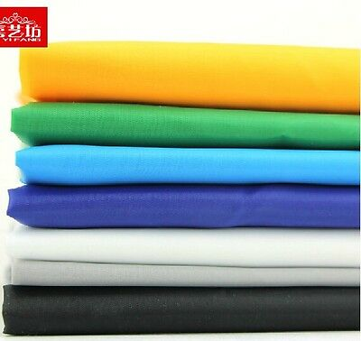 """5 meters by the yard Thin Type 190T Waterproof Polyester Fabric  59"""" width #12"""