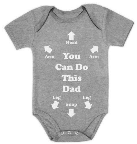 You Can Do This Dad New Dad Baby Grow Vest Bodysuit Baby Bodysuit Funny Gift