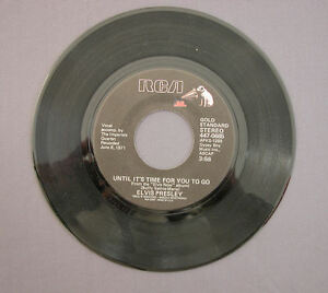 SG-7-034-45-rpm-1972-ELVIS-PRESLEY-AN-AMERICAN-TRILOGY-UNTIL-IT-039-S-TIME-FOR-YOU
