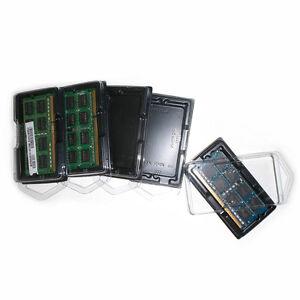 10x NEW DESKTOP RAM Memory Packaging Storage Box Case Protective Plastic Shell