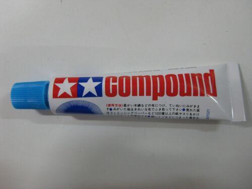 VINTAGE TAMIYA COMPUESTO PULIDOR PLASTICO//METAL,RUBBING POLISHING COMPOUND 20gr