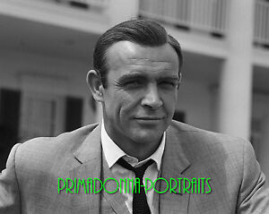 Sean Connery 8x10 Lab Photo Sexy James Bond Actor Movie Star Close Up Portrait Ebay