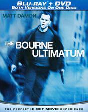 The Bourne Ultimatum Blu Ray Dvd 2010 For Sale Online Ebay