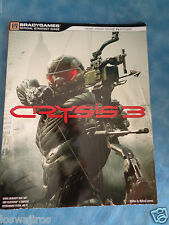 crysis 3 bradygames official game strategy guide book 206 pages ebay rh ebay com Galaxy of Heroes Strategy Guide Back to the Future Official Strategy Guide