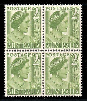 Gelernt Australien 1950 2d Spule Block Of 4 Sg 237b Mnh Australien, Ozean. & Antarktis penciled Nr. Auf Der Rückseite Einen Effekt In Richtung Klare Sicht Erzeugen