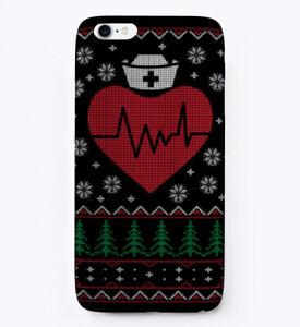 Nursing-Nurse-Ugly-Christmas-Sweater-Gift-Phone-Case-iPhone
