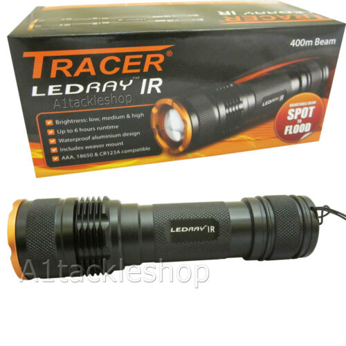 Tracer Ledray IR Infrared Illuminator Torch Gun Light for Night Vision LR3550