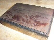 German Dead On Ourcq Battlefield Historic Iowa Printing Press Block