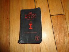 My Sunday Missal English-Latin Stedman Catholic Mass 1942