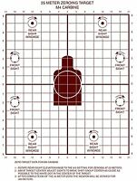 Lot Of 20 M16a2/ar 15 Zeroing Target, 25 Meter