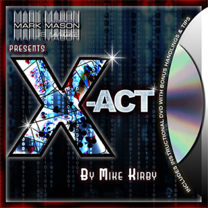 X-act (rouge) de Mike Kirby - Prestige Games And Magic