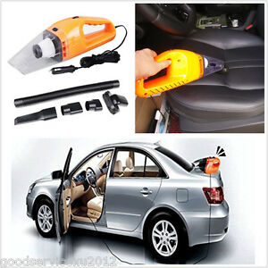 12v 120w super portable car interior handheld vacuum dirt cleaner kit wet dry ebay. Black Bedroom Furniture Sets. Home Design Ideas