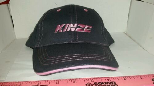 KINZE farm equip pink ladies Trademark Logo TRADTIONAL Twill CAP HAT BRAND NEW