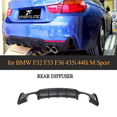 428i 430i Performance Style Rear Diffuser Fits 14-19 BMW F32 F33 F36 4-Series