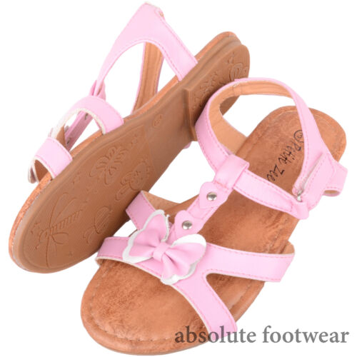 Holiday Sandals Childrens Shoes with Bow Design Kids Girls Summer