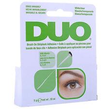 AUTHENTIC DUO STRIPLASH  Eyelash BRUSH ON Glue Adhesive Clear Tone 5g*UK SELLER