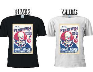 Pennywise The Dancing Clown Stephen Men Women Vest Tank Top Unisex T Shirt 1917
