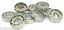 "Wholesale Lot 10 Axial/Thrust/Angular Contact Ball Bearings 0.67""inch bore id"