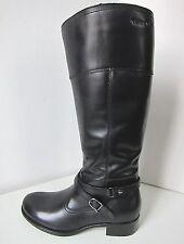 Tamaris Leder Reit Stiefel schwarz Gr. 38 leather boots black