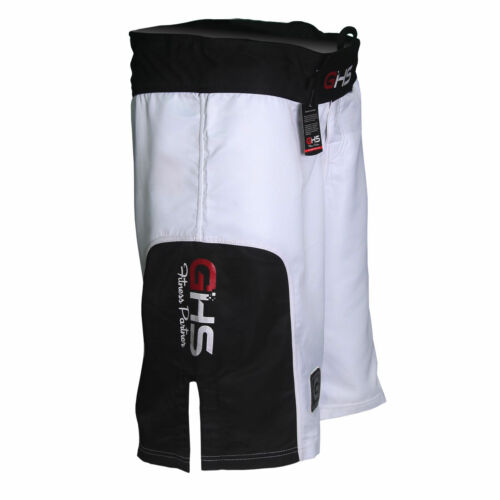 GHS MMA FIGHTING SHORTS UFC GRAPPLING KICK BOXING MUAY THAI MARTIAL ART SHORT