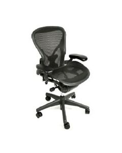 Herman Miller Aeron Chair Size C All Features Plus Adjustable