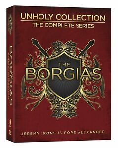 NEW - The Borgias - Unholy Collection - The Complete Series