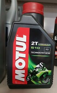 1 litre lubrifiant motul 2T 510
