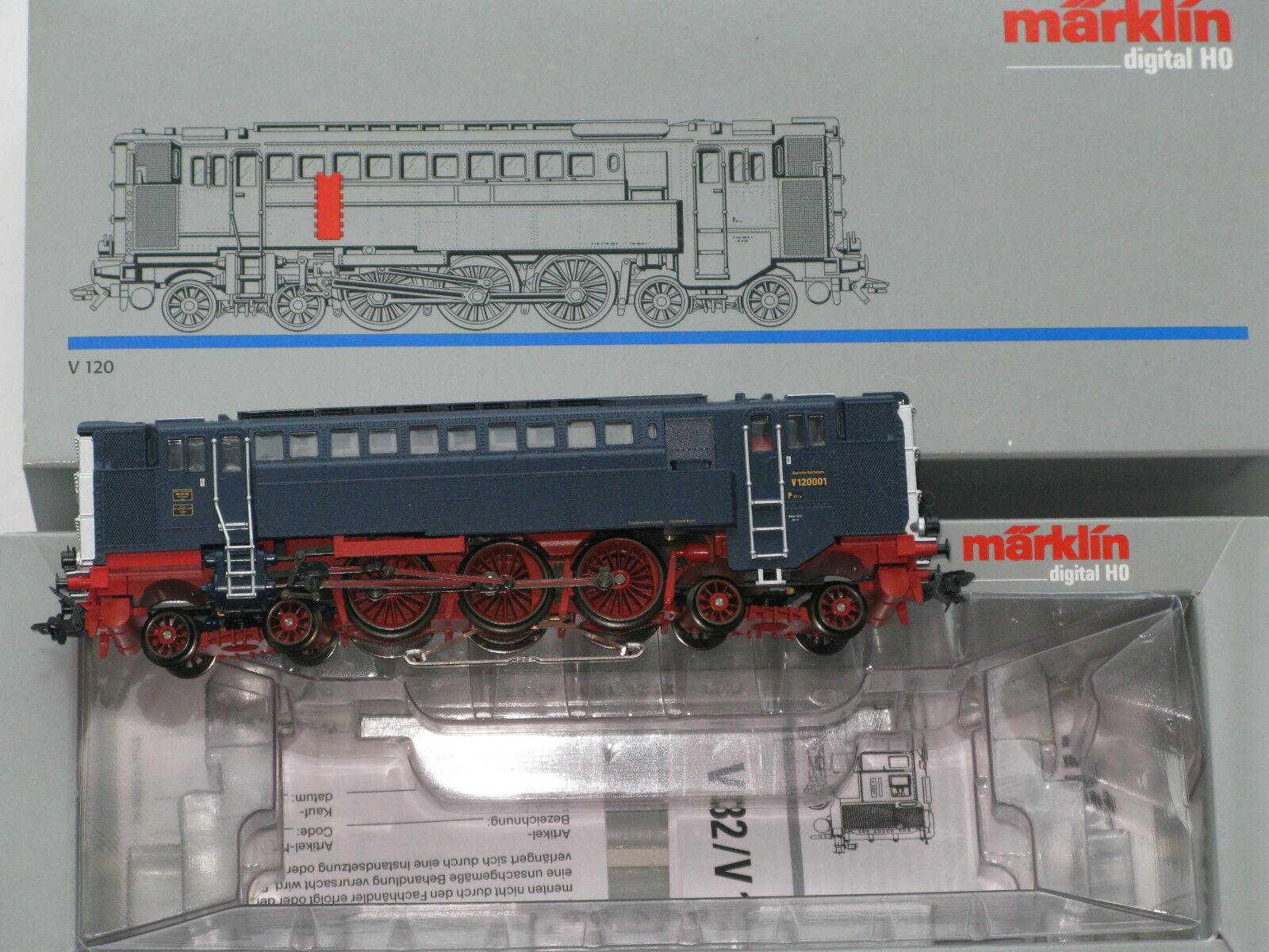 v120 da 37203  antenati della Diesel-trazione  DRG v120001-DIGITALE -