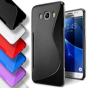 Samsung-Galaxy-j7-2016-Silikon-Gel-S-Line-Case-Cover-Duenn-Slim-Back-Bumper