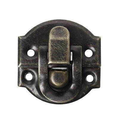 "50PCs Box Buckles Shiny Surface Bronze Tone 3cm x2.7cm(1 1/8"" x1 1/8"")"