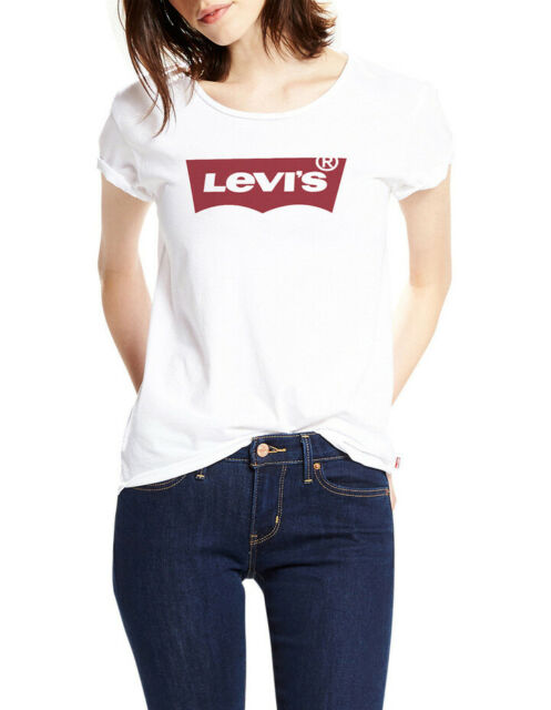 99fe4c01 Levi's Women's Levi`s The Womens Tee Large Batwing White for sale ...