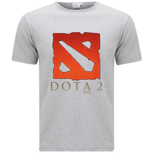 Dota 2 Multiplayer Game Defense of The Ancients Men/'s Grey T-Shirt Size S-3XL