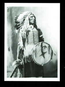 997-Postcard-Swift-Dog-Oglala-Sioux-F-A-Reinhart-Photo-Omaha-Nebraska-1898