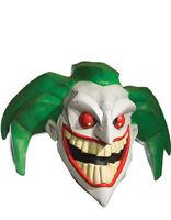 Joker Costume Accessory, Mens Batman Joker Full Mask Style 2
