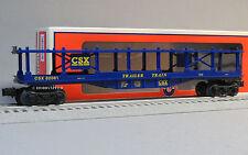 LIONEL CSX BI LEVEL AUTO CARRIER o train car automobile vehicle 6-82081 NEW