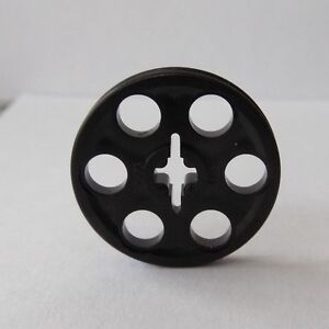 NEW LEGO Black TECHNIC WEDGE Belt Wheel PULLEY - Lot of ONE