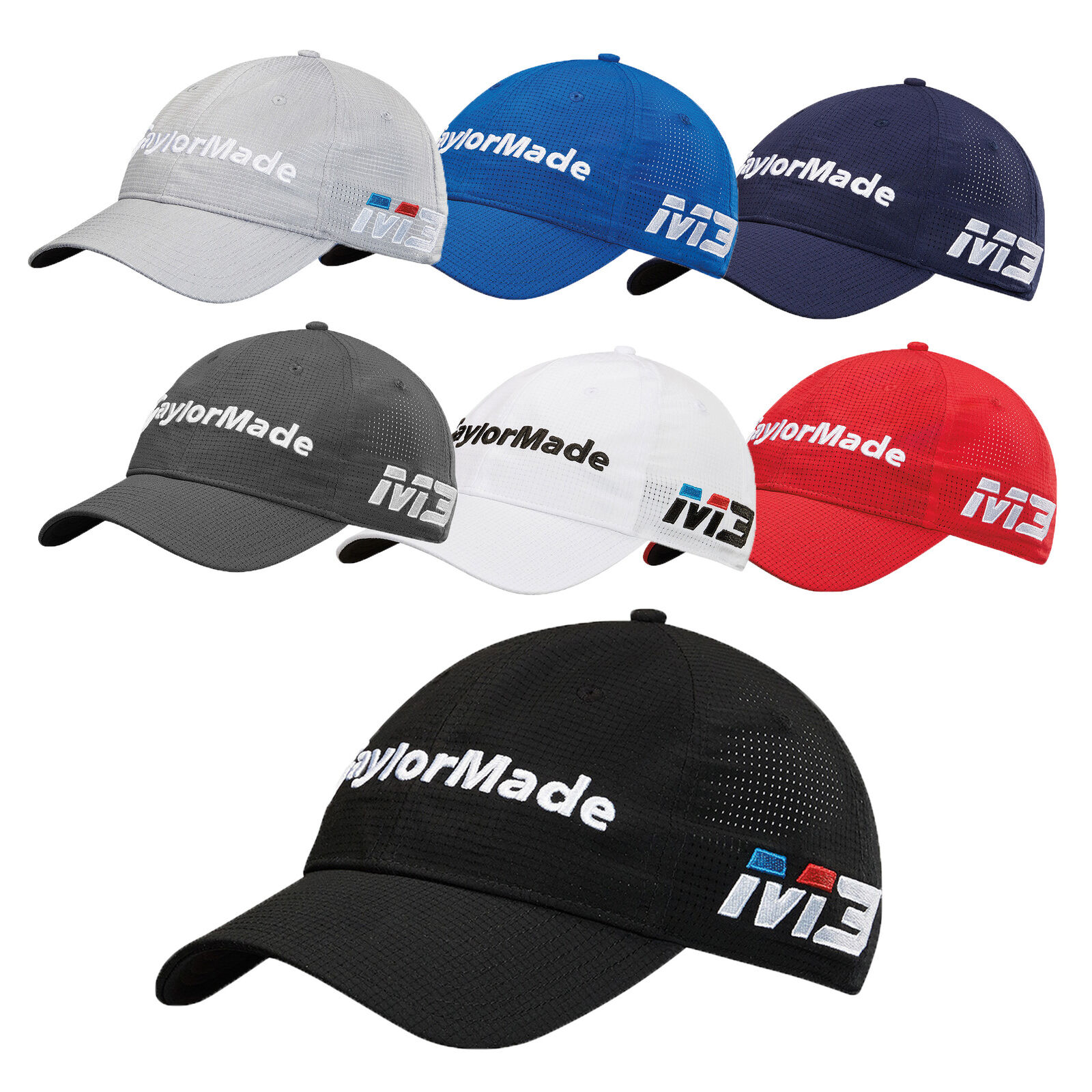 ca0dd466914 TaylorMade Golf- 2018 Litetech Tour Hat Cap Navy for sale online
