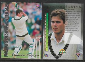 DAMIEN-MARTYN-Australia-1994-FUTERA-ASHES-SUPER-SERIES-CRICKET-CARD-SS5