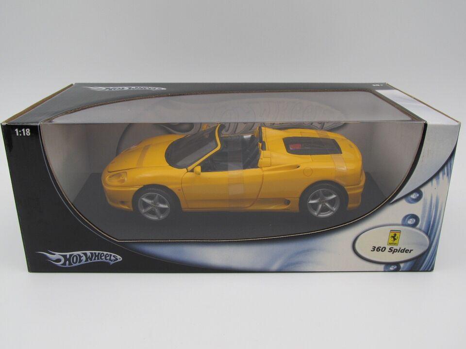 Modelbil, 1999 Ferrari F360 Modena Spyder, skala 1:18