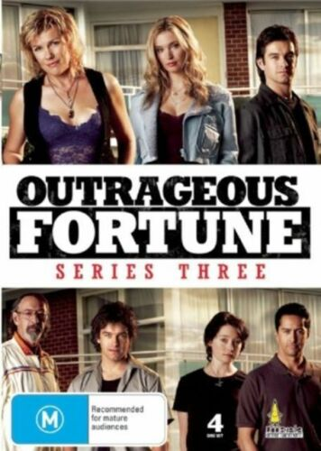 1 of 1 - OUTRAGEOUS FORTUNE - SERIES 3, THE COMPLETE (4 DVD SET) BRAND NEW!!! SEALED!!!