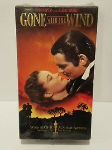Gone-With-the-Wind-VHS-Tapes-2-Vhs-Tape-Set-CLARK-GABLE-New-Factory-Sealed
