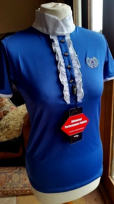 FAIR PLAY CHARLOTTE LADIES IN COMPETITION SHIRT IN LADIES COBALT Blau 16d854