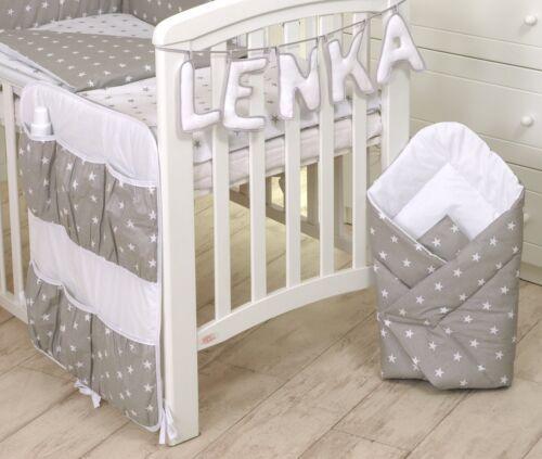 Gris elephant 2pcs bébé ensemble de literie couette//avec housse de couette plus motifs taie d/'oreiller