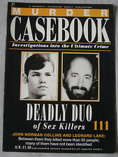 Murder Casebook Issue 111 - Deadly Duo, John Norman Collins & Leonard Lake