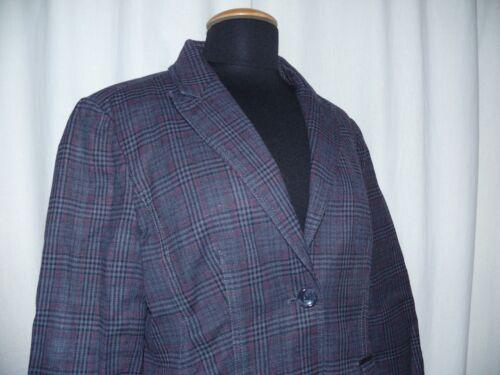 One Jacket Sporty 42 Country Street Gecontroleerd patches met Blazer Grijs dwTBdRq
